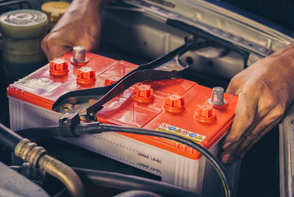 batterie de voiture électrique